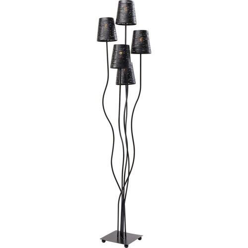 KARE Stehlampe »Stehleuchte Flexible schwarz Cinque«