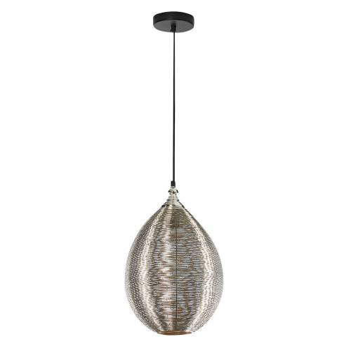 locker Pendelleuchte »Egg«, LED- oder Halogenleuchtmittel