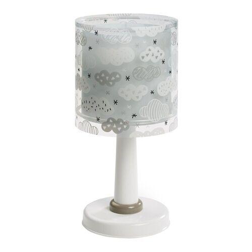 Dalber Nachttischlampe »Tischlampe Weltkarte«, grau