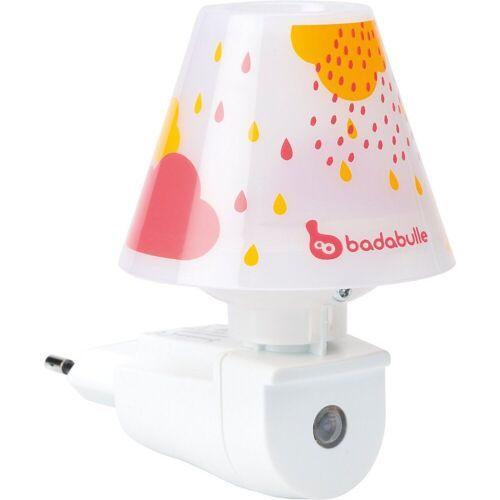 badabulle Nachtlicht »Wandnachtlicht, pink drops«, rosa
