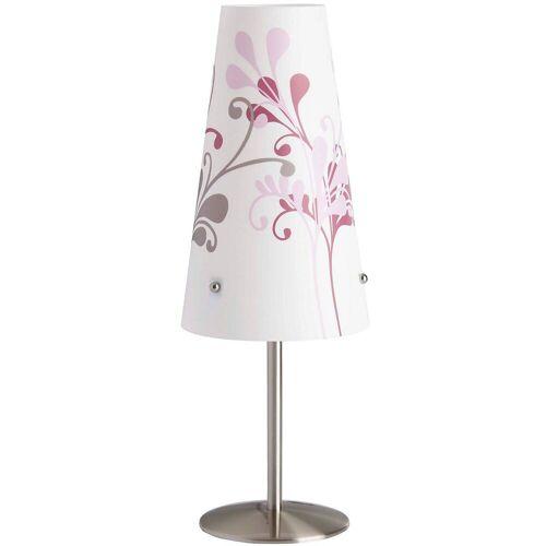 Brilliant Nachttischlampe »Nachttischlampe Isi, weiß mit Blumen«