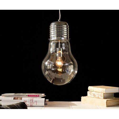 DELIFE Hängeleuchte »Bulb«, Deluxe Transparent 30 cm Glühbirne Hängeleuchte