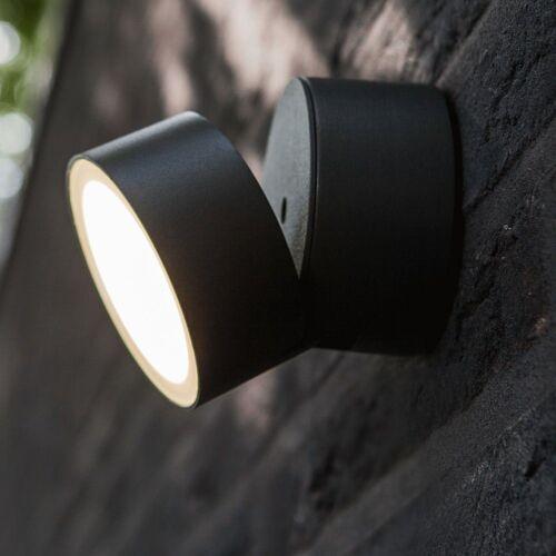 Lutec LED Außen-Wandleuchte »Trumpet XL 90° schwenkbare LED«
