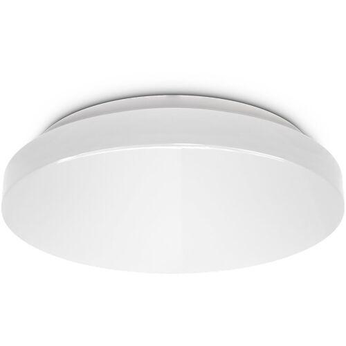 B.K.Licht LED Deckenleuchte, LED Bad Deckenlampe rund Badezimmer-Lampe flach IP44 Schlafzimmer Küche Flur