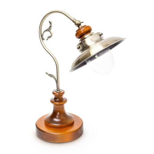 relaxdays Tischleuchte »Tischlampe Jugendstil Design neigbar«