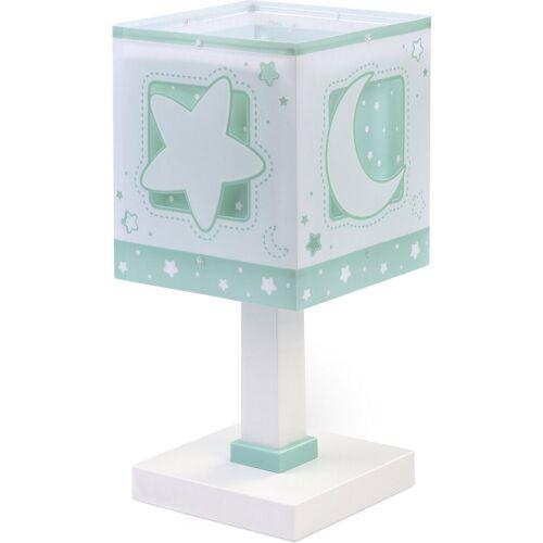 Dalber Nachttischlampe »Tischlampe Moonllight, grün«, grün
