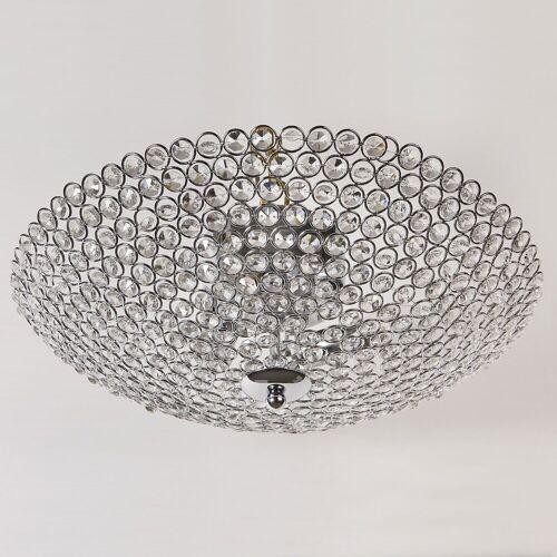 lux.pro Deckenleuchte, Kristall - Deckenleuchte »Vapora« - 3x E14