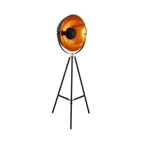 BUTLERS Stehlampe »SATELLIGHT Standleuchte«, Schwarz-Gold
