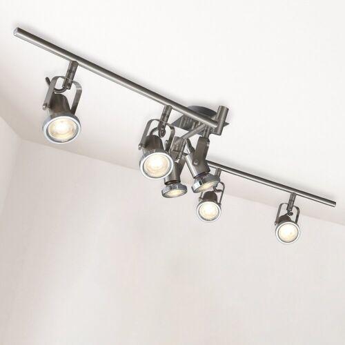 B.K.Licht LED Deckenspots »Phönix 6«, LED Deckenstrahler Deckenleuchte Lampe modern Spot-Leuchte Spotlights inkl.5W 400lm