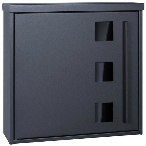 MOCAVI Briefkasten »Box 103G Design-Briefkasten anthrazit-grau (RAL 7016) mit Sichtfenster«