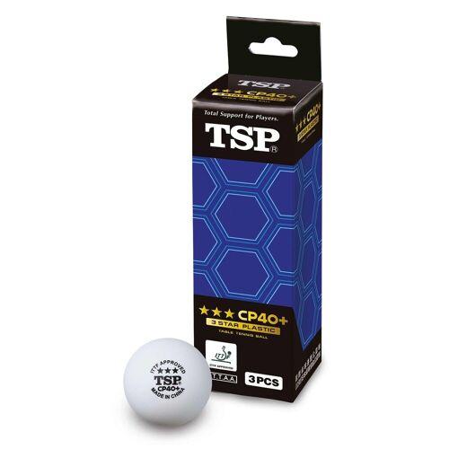 TSP Tischtennisball »Ball CP40+ 3*** 3er«