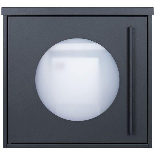 MOCAVI Briefkasten »Box 105W Design-Briefkasten anthrazit-grau (RAL 7016) mit Sichtfenster«