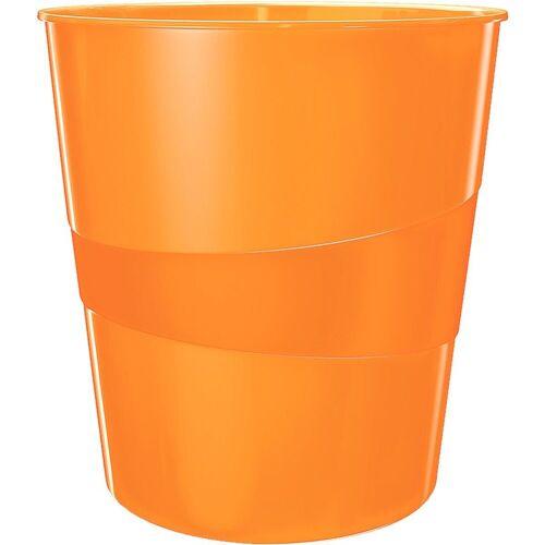 LEITZ Papierkorb »WOW 5278«, orange metallic
