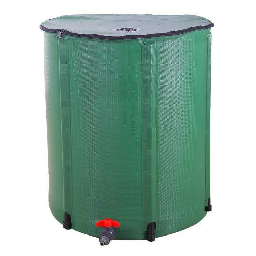 FCH Regentonne, 250 l, 250 L Faltbares Regenfass Regentonne klappbar Wassertank Deckelfass Wasserfass
