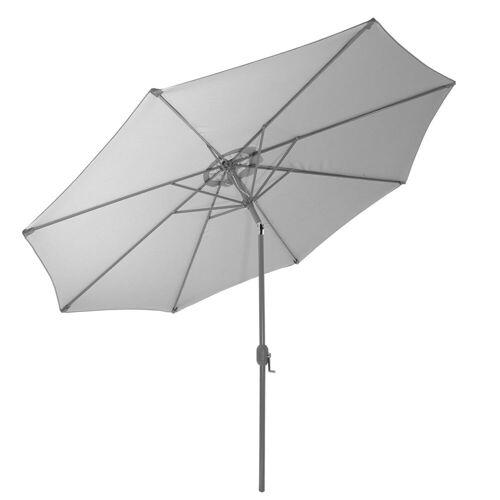 Gartenfreude Sonnensegel »Sonnenschirm 270 cm«, Wetterfest, Grau