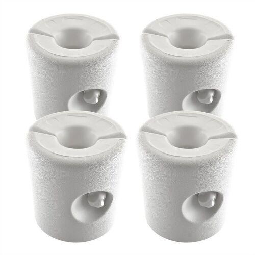 GEORGES Partyzelt »Kunststoff Pavillon Gewichte 4er Set für Wasseroder Sand in weiß«