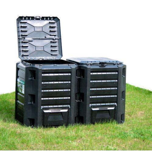 Prosperplast Komposter »800 l«, BxTxH: 72x135x83 cm, 800 l