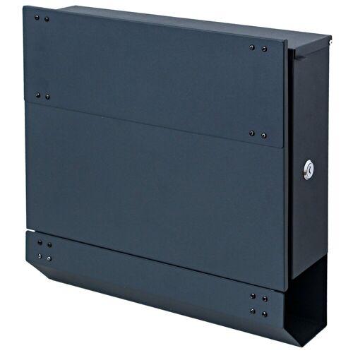 MCW Briefkasten »-B33«, Zylinderschloss, Inkl. 2 Schlüsseln und Montagematerial