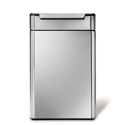 simplehuman Mülltrennsystem »48L touch-bar Recycler Abfalleimer«
