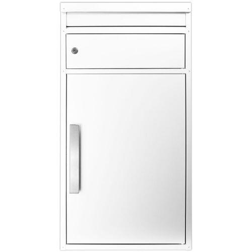 SafePost Briefkasten »Paketbriefkasten ScanPro 65M in weiß RAL 9010 « (1-St)