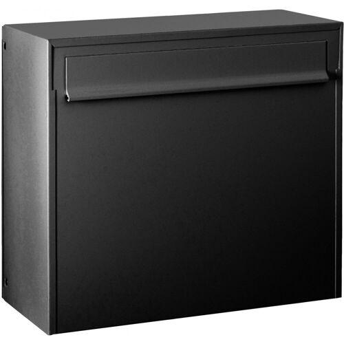 Max Knobloch Briefkasten »Zaunbriefkasten Fargo IV anthrazit-grau (RAL 7016) 20 Liter Briefkasten«