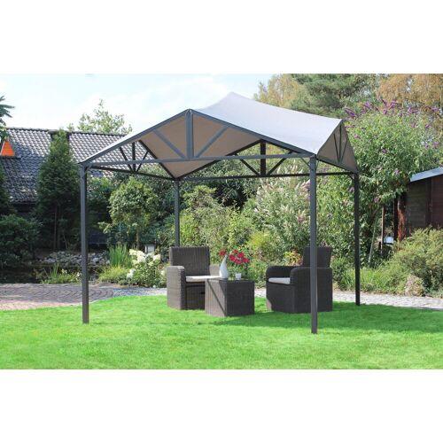 Leco Pavillon »Jule«, BxL: 300x300 cm, grau