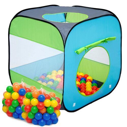 LittleTom Spielzelt »Kinderspielzelt Bällebad-Pool Arielle + 200 Bälle« Bällebadbälle Bällepool Set