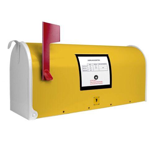 banjado Briefkasten »Motiv Briefkasten Gelb«