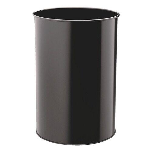 DURABLE Papierkorb, schwarz