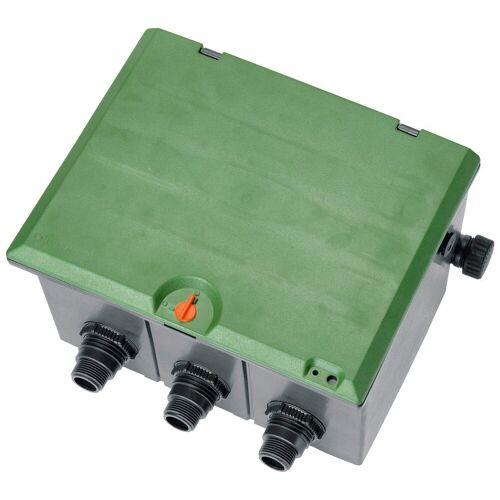 GARDENA Bewässerungssteuerung »Ventilbox V3, 01255-20«, für bis zu 3 Bewässerungsventile, grün