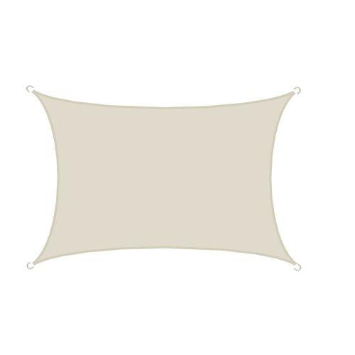 AMANKA Sonnensegel »UPF50+ UV Sonnensegel Polyester wasserabweisend«, 3x5 m Wetterfest Balkon Beige