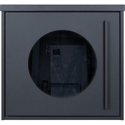 MOCAVI Briefkasten »Box 105G Design-Briefkasten anthrazit-grau (RAL 7016) mit Sichtfenster«
