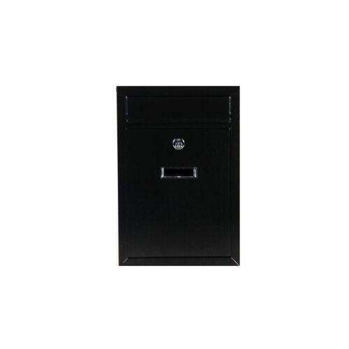 HTI-Line Briefkasten »Briefkasten Como M« (1-St), Schwarz