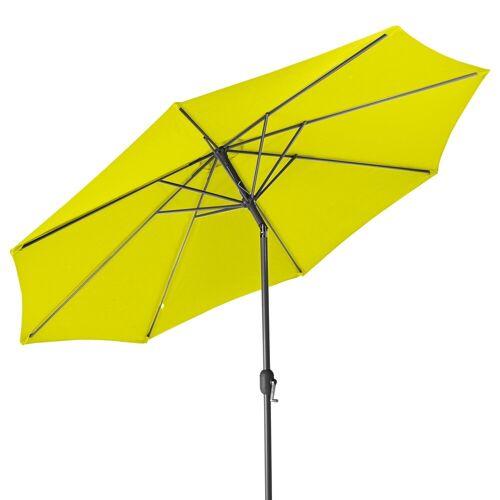 Gartenfreude Sonnensegel »Sonnenschirm 300 cm«, Wetterfest, Lemon