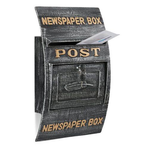 relaxdays Briefkasten »Briefkasten antik«