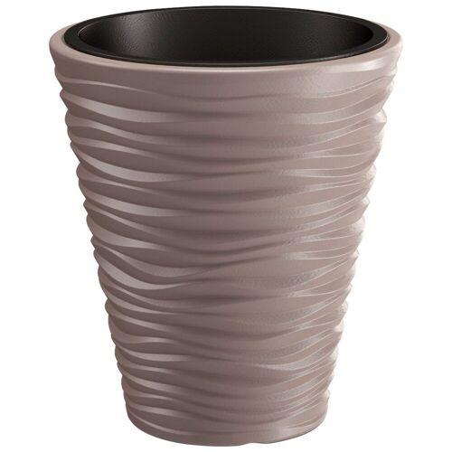 Prosperplast Blumentopf »Sand«, mocca, Ø 34,5, braun