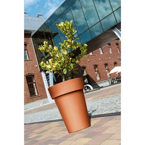 Prosperplast Blumentopf »Lofly Slim 400«, terracotta, Ø/H: 40/52 cm, rot