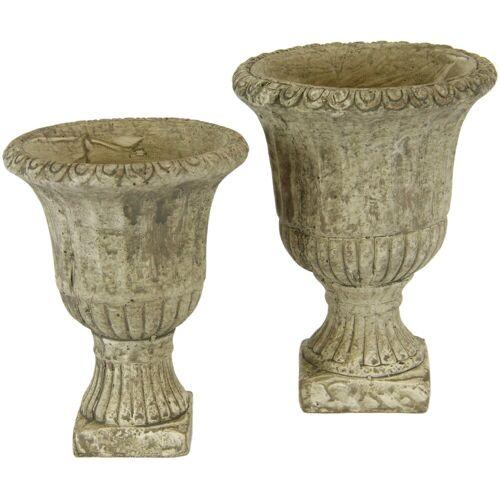 I.GE.A. Übertopf »Antik-Keramikpokal« (Set, 2 Stück)
