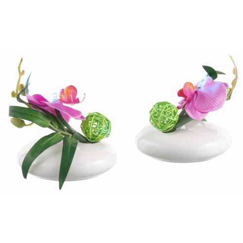 Kunstpflanze »LED-Orchidee« Orchidee, Höhe 12 cm