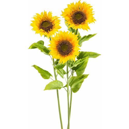 Kunstblume »XL«, gelb
