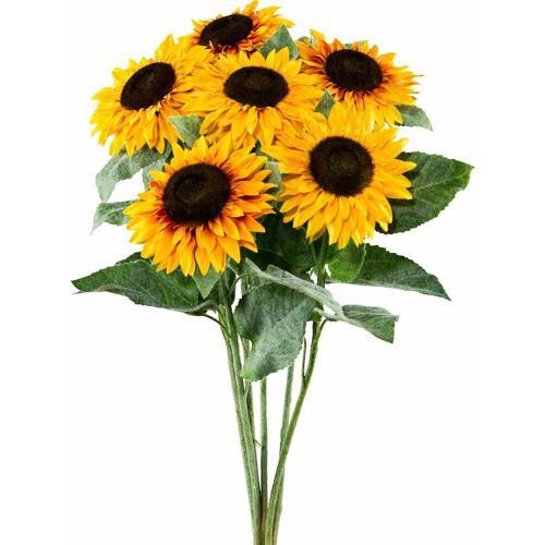 Creativ green Kunstblume »Sonnenblume«, , Höhe 58 cm