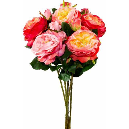 Kunstblume (Set, 5 Stück), rosa