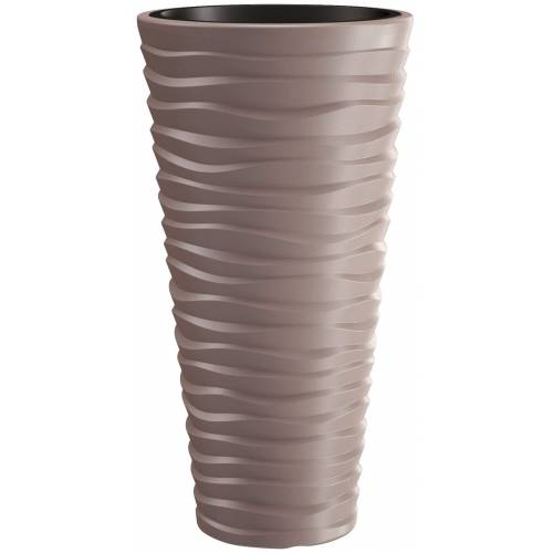 Prosperplast Blumentopf »Sand slim«, mocca, Ø 34,9, braun