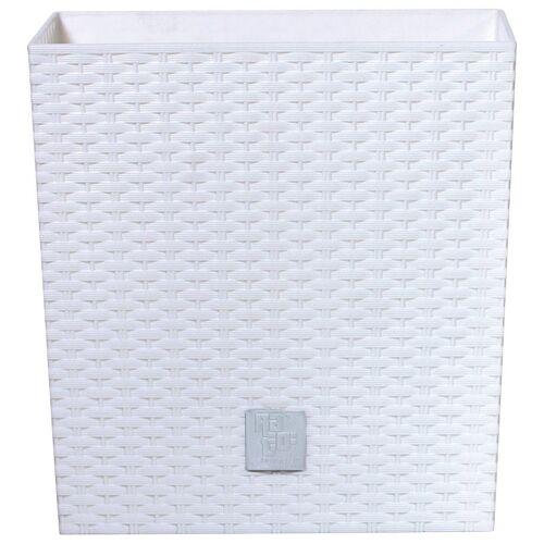 Prosperplast Blumentopf »Rato low«, weiß, B/T/H: 40/40/40,8 cm, weiß