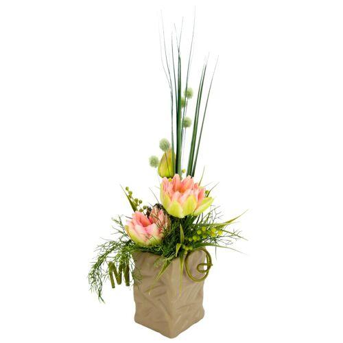 I.GE.A. Kunstpflanze »Seerosen« Seerosen, , Höhe 50 cm