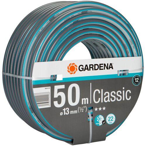 """GARDENA Gartenschlauch »Classic, 18010-20«, 13 mm (1/2""""), 50 Meter, blau"""