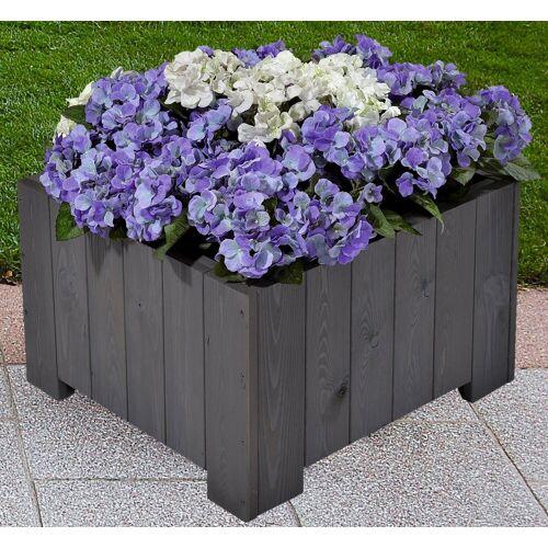 GASPO Blumenkasten »Wels«, BxTxH: 57x57x35 cm, grau