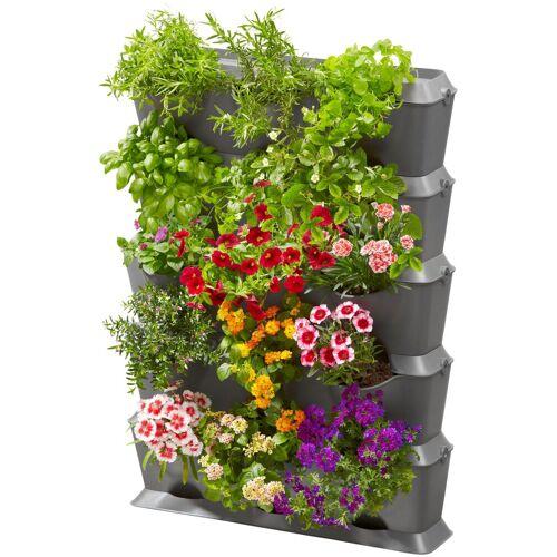 GARDENA Pflanzkasten »NatureUp!, 13151-20«, Set-Vertikal mit Bewässerung, grau