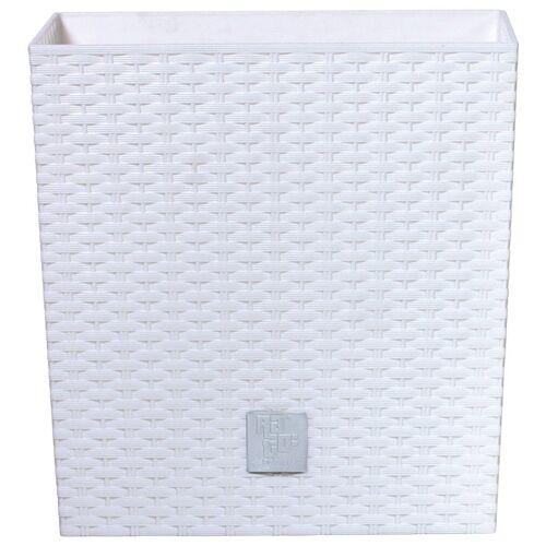 Prosperplast Blumentopf »Rato low«, weiß, B/T/H: 32/32/32,5 cm, weiß