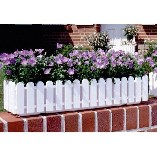 Emsa Blumenkasten »LANDHAUS«, weiß (100 cm), weiß